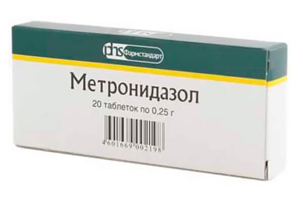 фото упаковки метронидазол