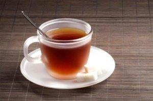 чай при отравлениях