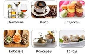 запрещенные продукты при панкреатите и гастрите