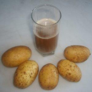 картофельный сок при гастрите как принимать