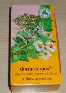 травяной сбор Фитогастрол при панкреатите и гастрите