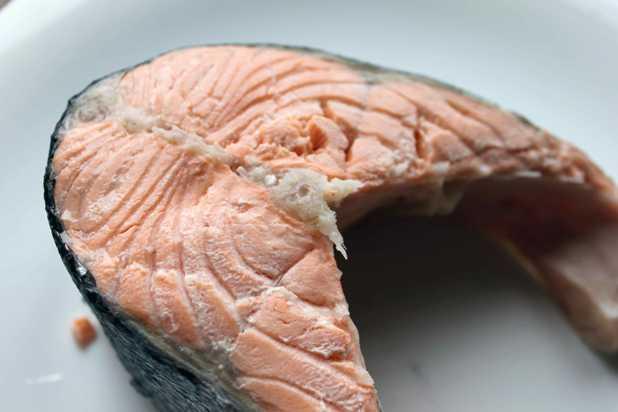 Отварная рыба