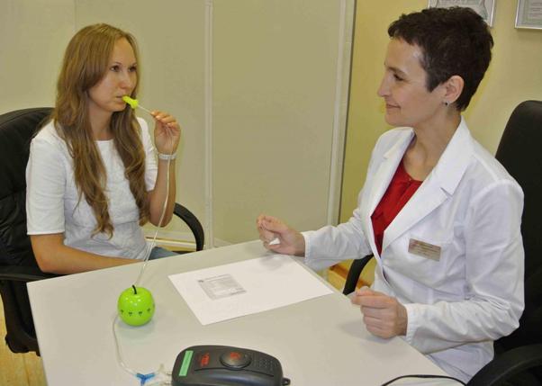 Дыхательный тест, выявляющий хеликобактер пилори