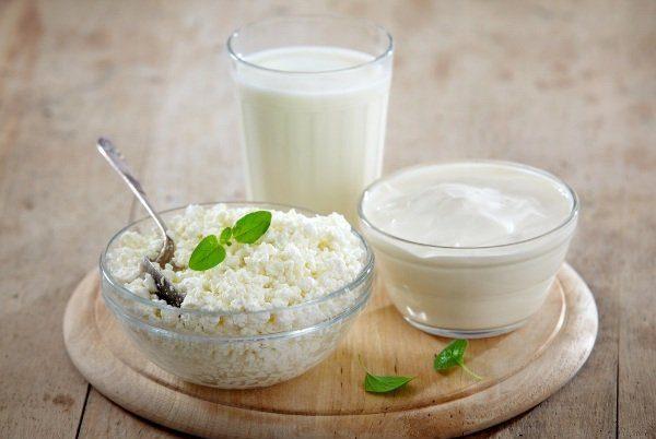 Кефир, йогурт, творог