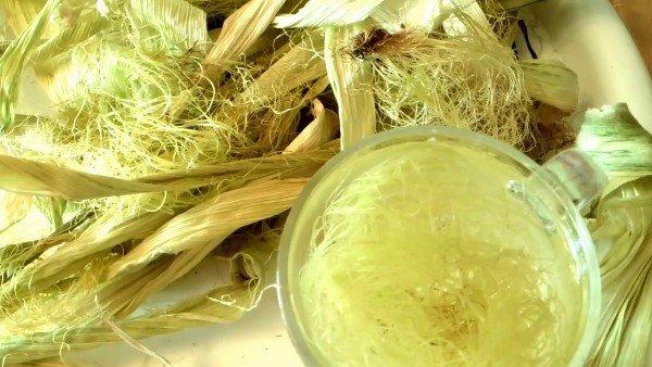 Кукурузные рыльца отвар
