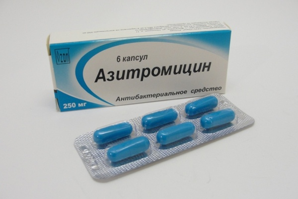Антибиотик: «Азитромицин»