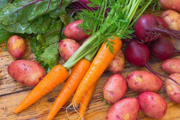 Морковь, свекла, картофель