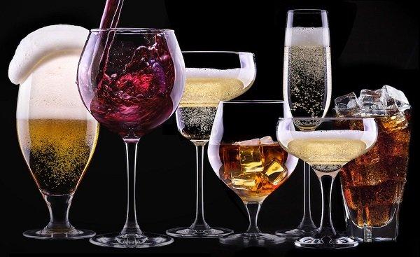 Алкоголь при язве желудка: пиво, вино, водка
