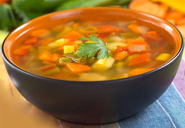 Правила приготовления и рецепты супов при язве желудка