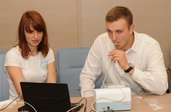 Дыхательный тест (уреазный): анализ на Хеликобактер Пилори