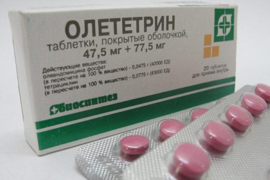 Антибиотики при колите кишеника