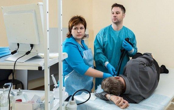 гастроскопия помогает провести диф диагностику с язвенным заболеванием