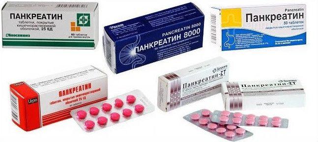 Применение панкреатина при гастрите: особые указания и аналоги